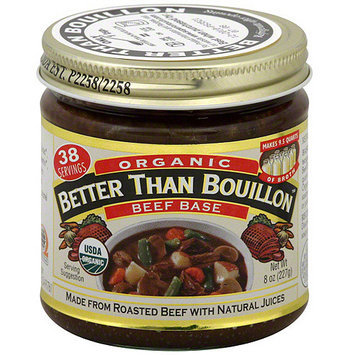 Superior Touch Better Than Bouillon Organic Beef Base, 8 oz (Pack of 6)