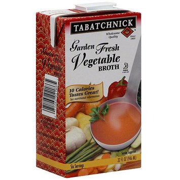 Tabatchnick Garden Fresh Vegetable Broth, 32 oz (Pack of 12)