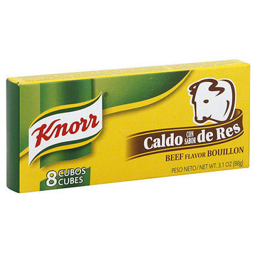 Knorr Hispanic Beef Flavored Bouillon Cubes, 8ct (Pack of 24)