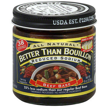 Superior Touch Reduced Sodium Beef Bouillon, 8 oz (Pack of 6)