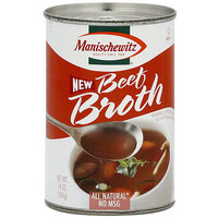 Manischewitz Beef Broth, 14 oz (Pack of 12)