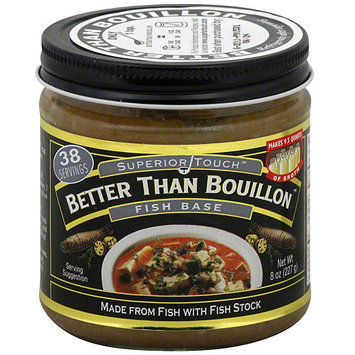 Superior Touch Better Than Bouillon Fish Base, 8 oz (Pack of 6)
