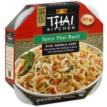 Thai Kitchen Spicy Thai Basil Rice Noodle Cart, 9.7 oz (Pack of 6)