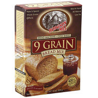 Hodgson Mill 9 Grain Bread Mix,16 oz (Pack of 6)