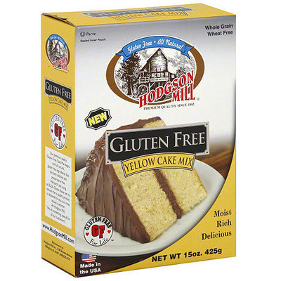 Hodgson Mill Yellow Cake Mix, 15 oz (Pack of 6)