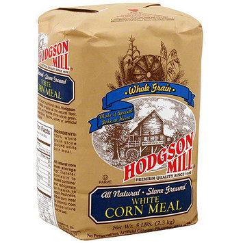 Hodgson Mill Stone Ground White Corn Meal, 5 lb (Pack of 6)