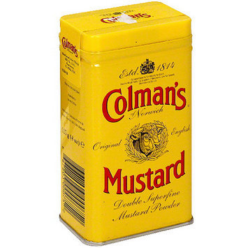 Colmans Colman's Of Norwich Hot Dry Mustard, 4 oz (Pack of 12)