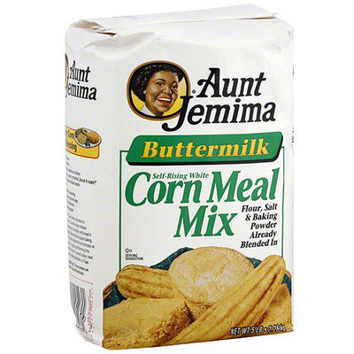 Aunt Jemima Mix Buttermilk Corn Meal, 5LB (Pack of 8)