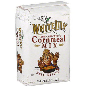White Lily Enriched White Cornmeal, 5 lb (Pack of 8)
