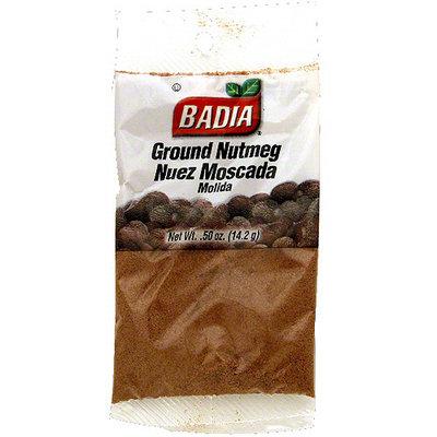 Badia Ground Nutmeg, 0.5 oz (Pack of 12)