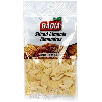 Badia Sliced Almonds, 0.75 oz (Pack of 12)