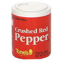 Tone's Ground Red Pepper, 0.50 oz (Pack of 6)