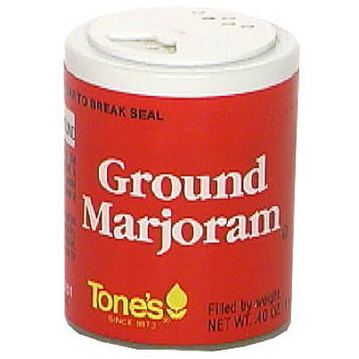 Tone's Ground Marjoram, 0.40 oz (Pack of 6)