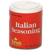 Tone's Italian Seasoning, 0.25 oz (Pack of 6)