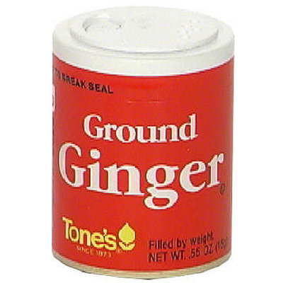 Tone's Ground Ginger, 0.55 oz (Pack of 6)