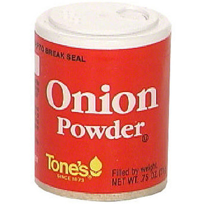 Tone's Onion Powder, 0.75 oz (Pack of 6)