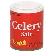 Tone's Celery Salt, 1.20 oz (Pack of 6)