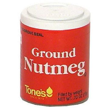 Spice Islands Ground Nutmeg, .60 oz (Pack of 6)