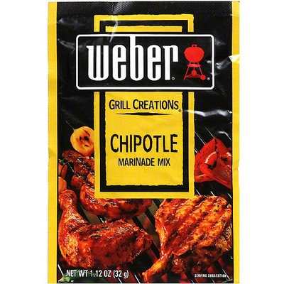 Weber Chipotle Marinade Mix, 1.12 oz (Pack of 12)