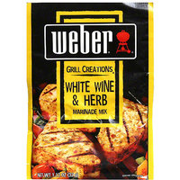 Weber White Wine & Herb Marinade Mix, 1.12 oz (Pack of 12)