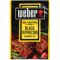 Weber Black Peppercorn Marinade Mix, 1.12 oz (Pack of 12)