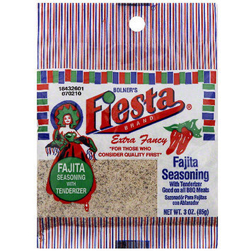 Bolner's Fiesta Brand Fajita Seasoning, 3 oz (Pack of 12)