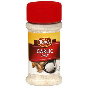 Tone's Garlic Salt, 4.41 oz (Pack of 6)