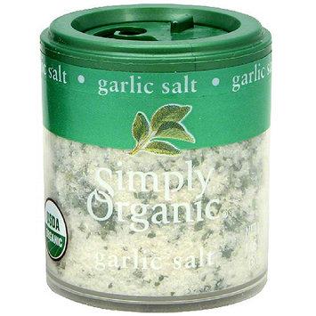 Simply Organic Garlic Salt, 1.06 oz (Pack of 6)