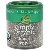 Simply Organic Black Pepper, .56 oz (Pack of 6)