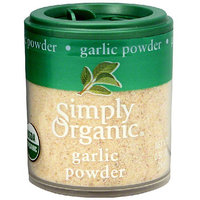 Simply Organic Garlic Powder, 0.92 oz (Pack of 6)
