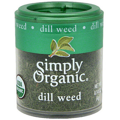 Simply Organic Dill Weed, .14 oz (Pack of 6)