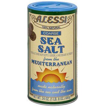 Alessi Coarse Sea Salt, 24 oz (Pack of 6)