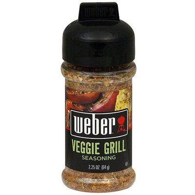 Weber Veggie Grill Seasoning, 2.25 oz (Pack of 6)