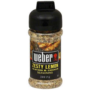 Weber Zesty Lemon Seasoning, 2.5 (Pack of 6)