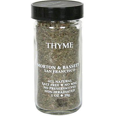 Morton & Bassett Spices Thyme, 1 oz (Pack of 3)