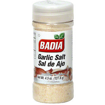 Badia Garlic Salt, 4.5 oz (Pack of 12)