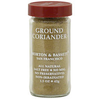Morton & Bassett Spices Ground Coriander, 1.5 oz (Pack of 3)