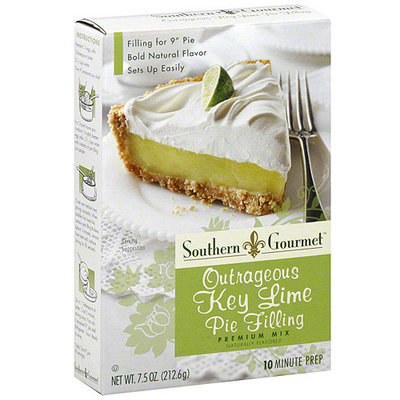 Southern Gourmet Outrageous Key Lime Pie Filling Mix, 7.5 oz (Pack of 6)