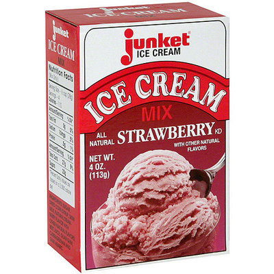 Junket Simply Strawberry Ice Cream Mix
