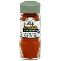 McCormick Gourmet Collection Cayenne Red Pepper, 1 oz (Pack of 3)