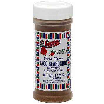 Bolner's Fiesta Brand Beef Tacos Taco Seasoning, 4.5 oz (Pack of 6)