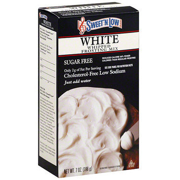Sweet N Low Sweet 'N Low White Frosting Mix, 7 oz (Pack of 6)