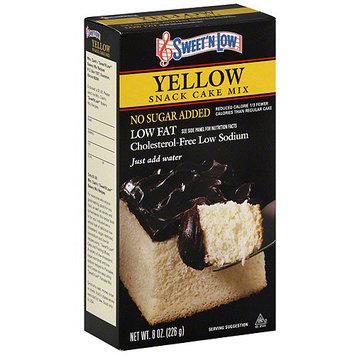 Sweet N Low Sweet 'N Low Yellow Snack Cake Mix, 8 oz (Pack of 6)