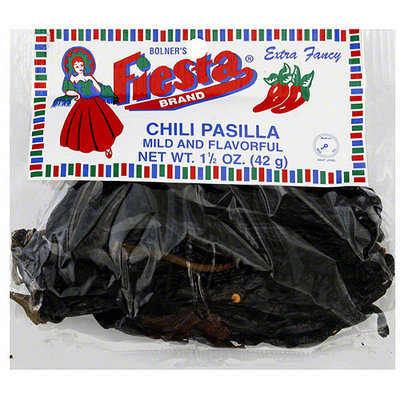 Bolner's Fiesta Brand Chili Pasilla, 1.5 oz (Pack of 12)