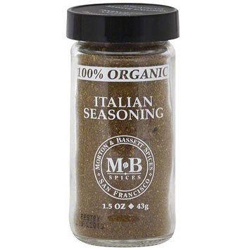 Morton & Bassett Spices Italian Seasoning, 1.5 oz (Pack of 3)