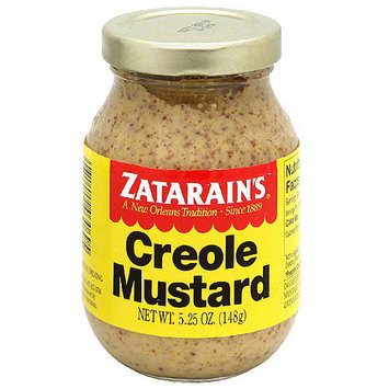 Zatarain's Creole Mustard, 5.25 oz (Pack of 12)