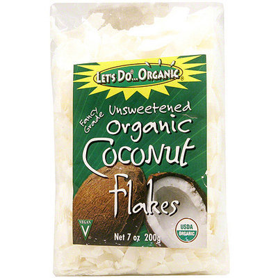 Edward & Sons Unsweetened Coconut Flakes, 7 oz (Pack of 12)