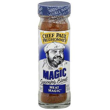 Chef Paul Meat Magic Seasoning, 2 oz (Pack of 6)