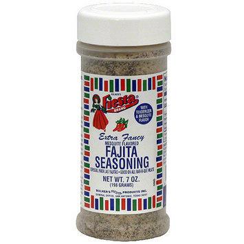 Fiesta Brand Mesquite Flavored Fajita Seasoning With Tenderizer, 7 oz (Pack of 6)