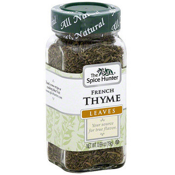 The Spice Hunter French Thyme Leaves, 0.69 oz (Pack of 6)